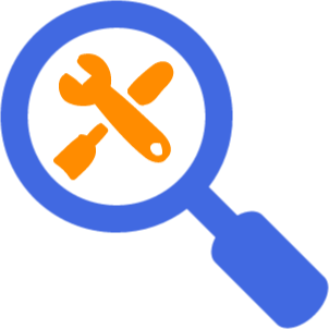 Magnifying glass tools